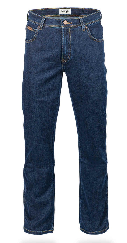 Wrangler Texas Stretch DARKSTONE Herren Jeans