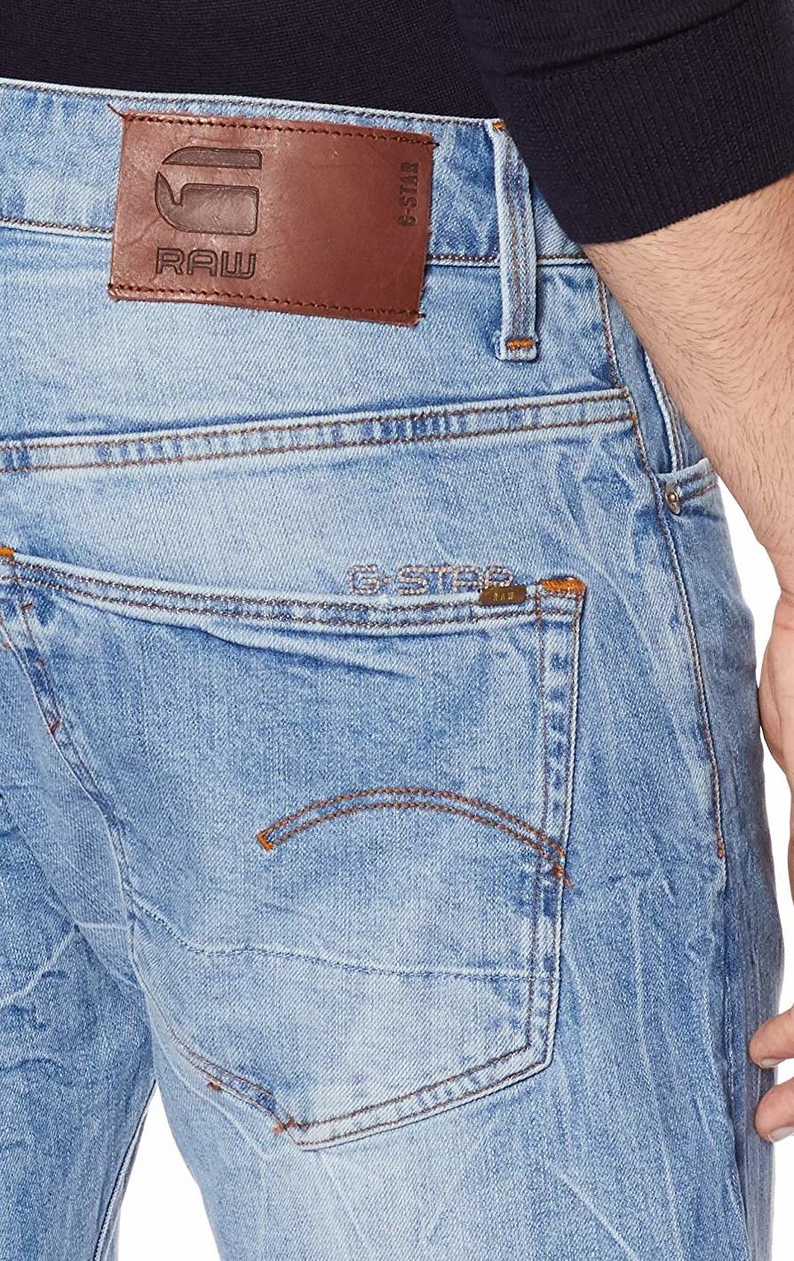 f8f5f82046c9 G-STAR RAW 3301 Straight Jeans Medium Aged