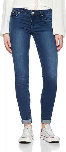 SUPERDRY Jeggings Alexia clean Midnight Sky , Damen Jeans Hose