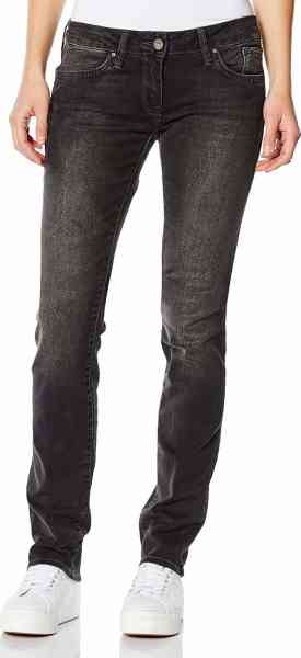 MAVI Damen Jeans Julia (Low Rise,Slim Cigarette Leg)dark grey