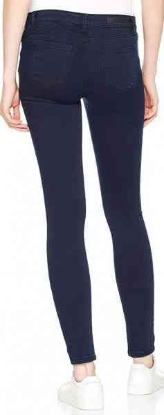 TOM TAILOR Nela Extra Skinny Blue Black Damen Jeans