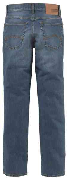 MUSTANG Oklahoma Slim Fit-Medium Rise-Straight Leg Blau